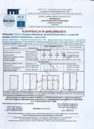 certyfikat firmy grzegorz mielczarek
