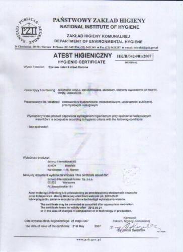 certyfikat grzegorza mielczarka
