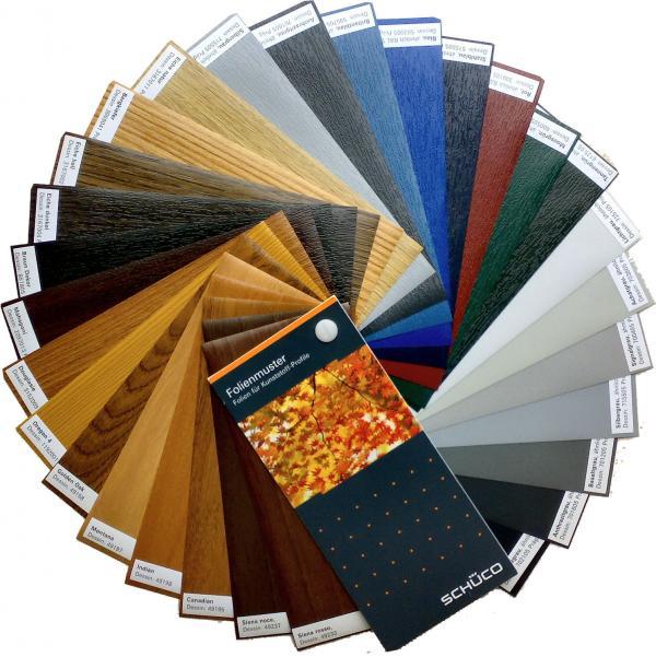 Paleta kolorow schuco okna i drzwi mielczarek for Colori finestre pvc