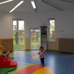 Okna w przedszkolu