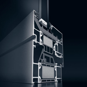 Okna aluminiowe Schuco AWS 75 SI