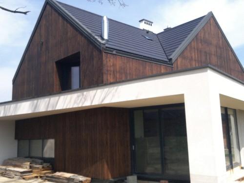 Dom jednorodzinny okna PCV okna tarasowe