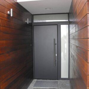 Drzwi aluminiowe YAWAL TM77HI , kolor strukturalny Antracytgrau