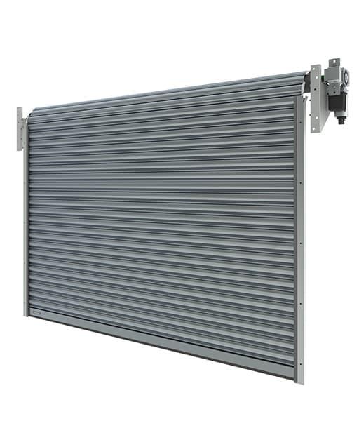 Brama przemysłowa rolowana aluminiowa R1 AD