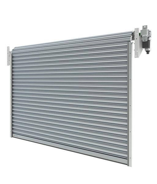 Brama przemysłowa rolowana aluminiowa R1 AS